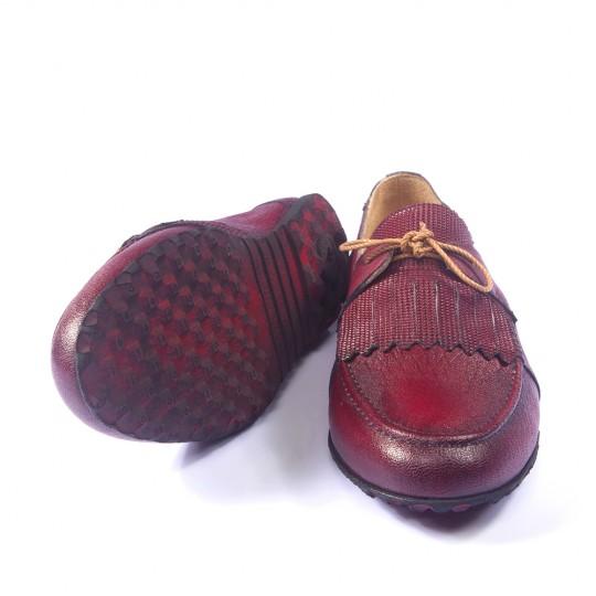 Mystic Bordo Erkek Ayakkabı