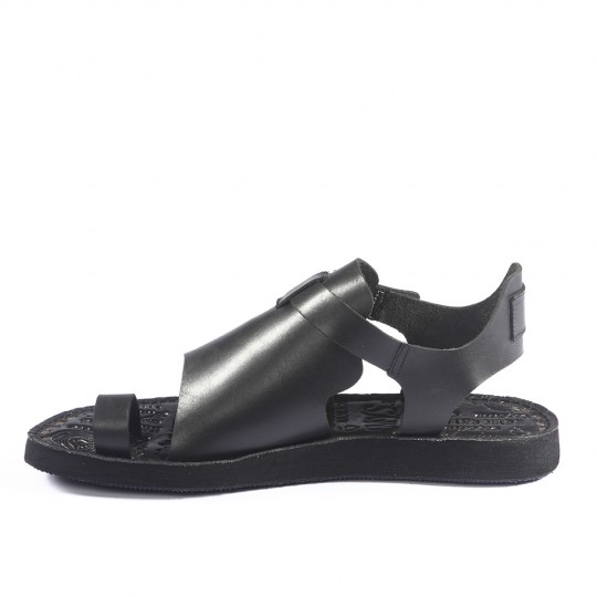 Mystic siyah Erkek Sandalet